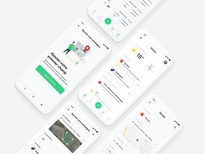 AITECH - Agriculture mobile app for Algerian farmers│ UI Design wather vegetable andoid app andorid ios agricultural farming farmer algeria app design mobile ux ui ui ux