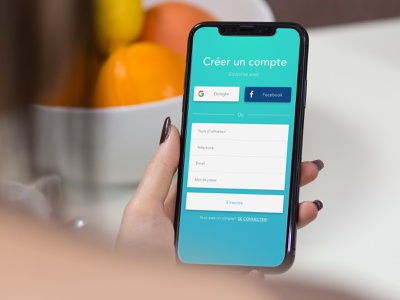 Sign up Form iphone ios andorid form signupform sign in log in mobile app design ui ui ux