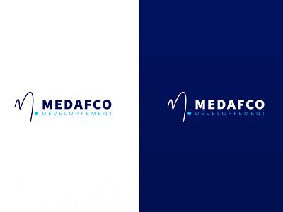 Medafco Developpement Logo* creative logodesign illustration graphic  design branding typography vector design logo