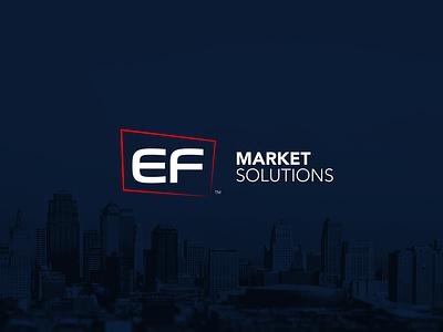 Ef Market Solutions Logo redisign creative logodesign illustration vector typography branding design logo