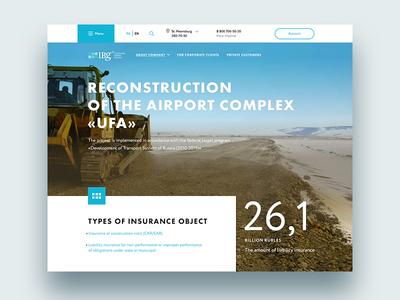 Insurance Company Website