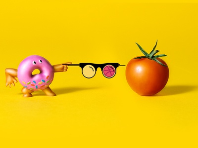 Tomato Donut