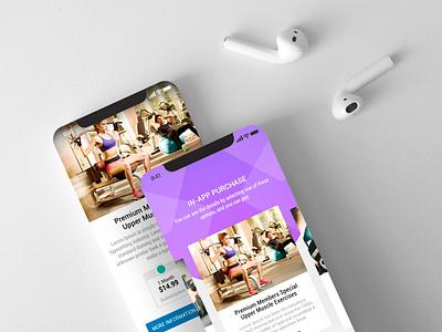 In-App Purchase Screen mobiroller app maker mobile app app ux ui design ui design mobile