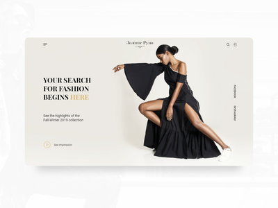Brand Platform fashion webdesign website design figma web online shop onlinestore