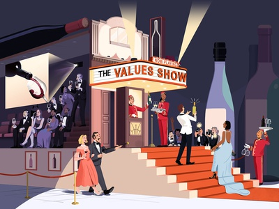 Wine Spectator: 'The Values Show'