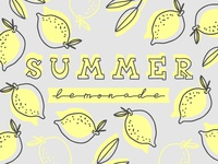 Summer Lemonade Illustration