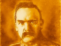 Portrait of Jozef Pilsudski