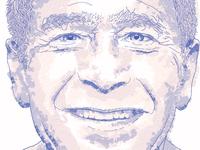 Portrait of George W. Bush