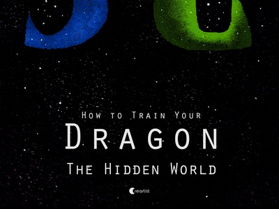 Poster of How to Train Your Dragon The Hidden World v1