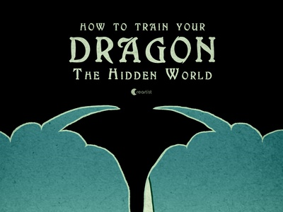 Poster of How to Train Your Dragon The Hidden World v2