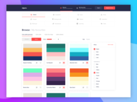 UI Design - Dashboard