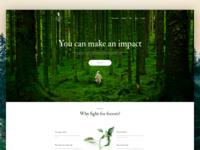 Treestories - Landing Page