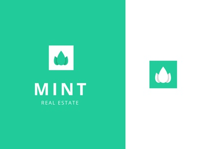 🌿 Mint Real Estate | Logo concept