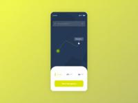 #dailyUI 20 | Location Tracker