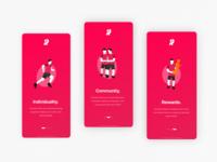 Running App | Illustrative Onboarding Concept