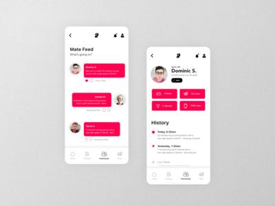 Running App | Community Concept
