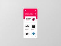 Running App   Reward Shop Concept