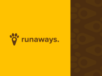 runaways | Branding | App for locating your pets