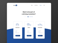#DailyUI 30 | Pricing | Car-sharing service