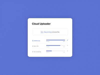 #DailyUI 31 | File Upload Window