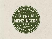 The Menzingers Hello Exile Badge 🌲