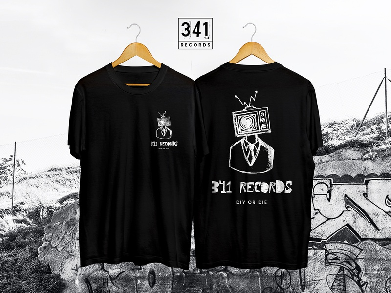 341 Records T-shirt