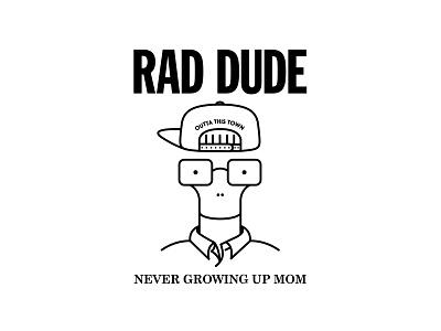 Rad Dude Descendents Bootleg bootleg artwork punx music rock punk rock descendents