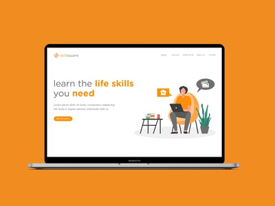 Skill Square Landing Page