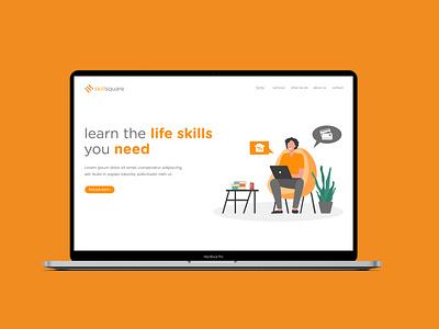 Skill Square Landing Page