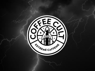 COFFEE CULT coffee cup coffee bean coffeeshop coffee