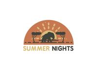 Summer Nights Illustration 🐘