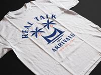 Real Talk Band Palm T-shirt 🌴