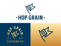 Hop Grain Clothing Co Branding