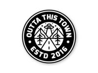 Outta This Town Coaster