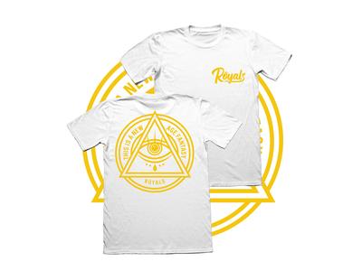 Royals Third Eye T-shirt