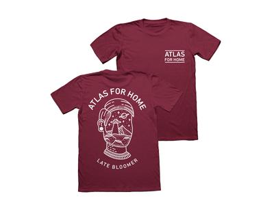 Atlas For Home UFO Head T-shirt Design 🛸✨