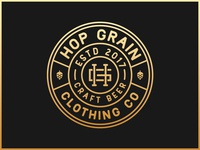 Hop Grain Clothing Co Badge