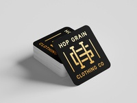 Hop Grain Clothing Co Coaster
