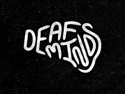 Deaf Minds Punk Rock Logo 🧠