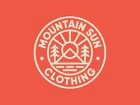 Mountain Sun Badge ⛰️☀️
