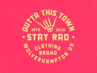 Stay Rad Badge 🤙