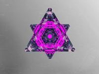 Pyramid glass design.