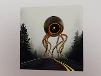The evil webcam album cover design