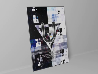 Utopia poster design.
