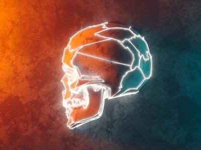 Lightning skull, skull VII