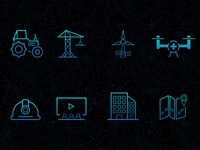 InterDrone Icons