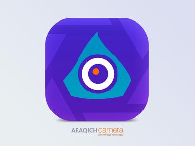 Araqich Camera app icon mobile app icon sales camera app icon