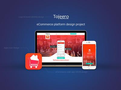Cross-platform ecommerce UI/UX responsive ui android ios ecommerce mcommerce