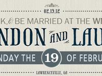 My Wedding Website