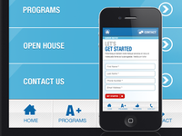 Educational Mobile Site
